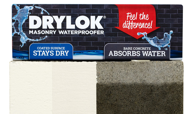 Feel the difference - Drylok